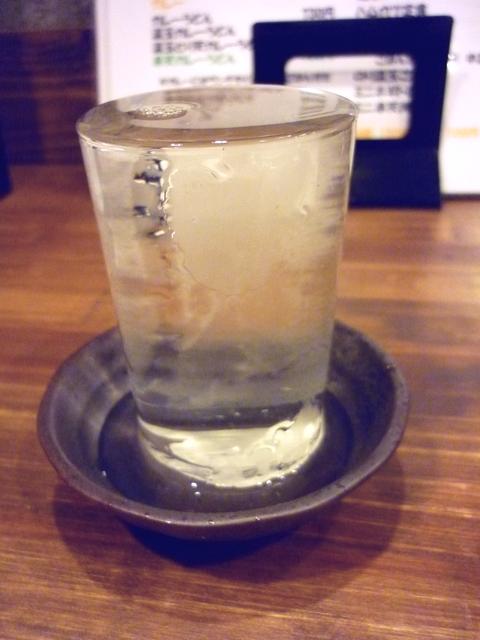 呉春の冷酒