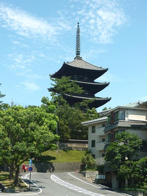 奈良公園・五重塔