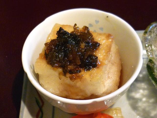 中華風揚げ出し豆腐