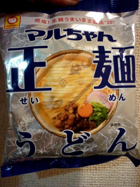 マルちゃん正麺うどん