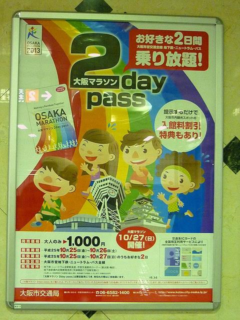 大阪マラソン 2DAYS PASS