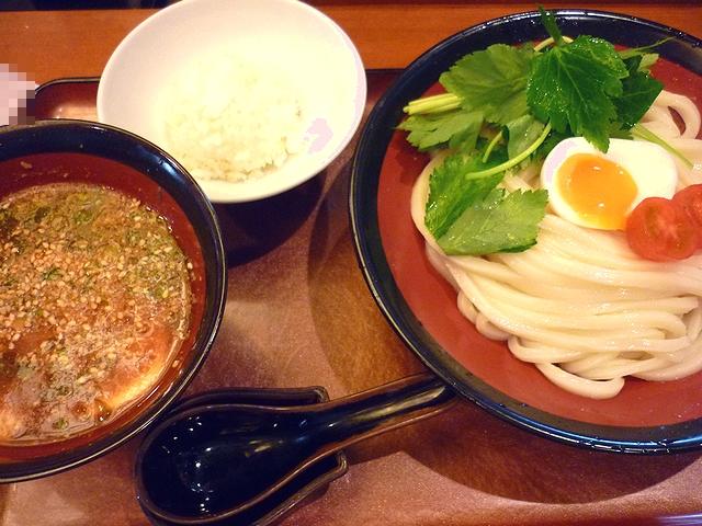 はんげしょう 牛筋赤味噌つけ麺(イベント限定)