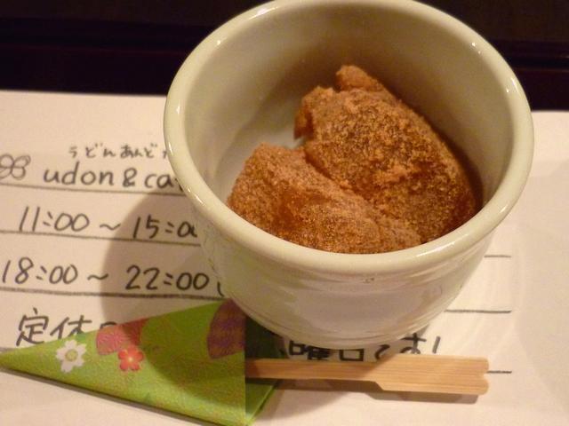 小さいワラビ餅