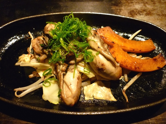 カキ(バター醤油)
