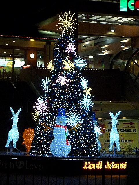 エコール・マミのクリスマスツリー