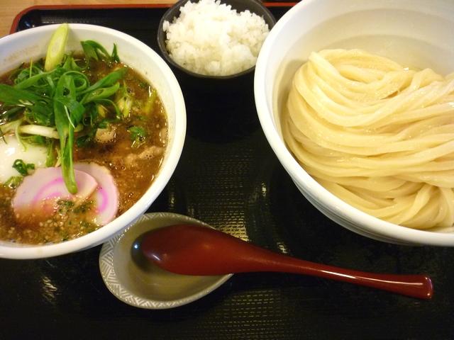 豚バラ肉の温玉つけ麺