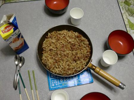 カウチサーフィン(ドイツとロシア)、学生の料理