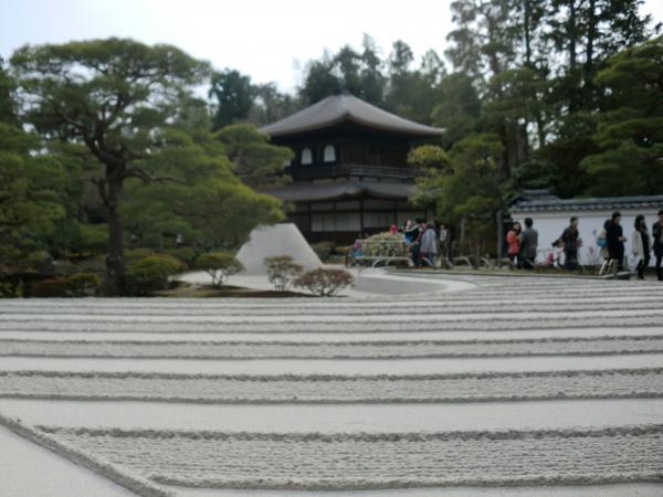 カウチサーフィン(日本・オーストラリア、マキ)、銀閣寺。
