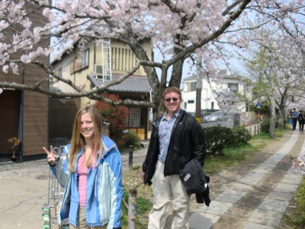 カウチサーフィン(アメリカ、ケーシーとアダム)、哲学の道