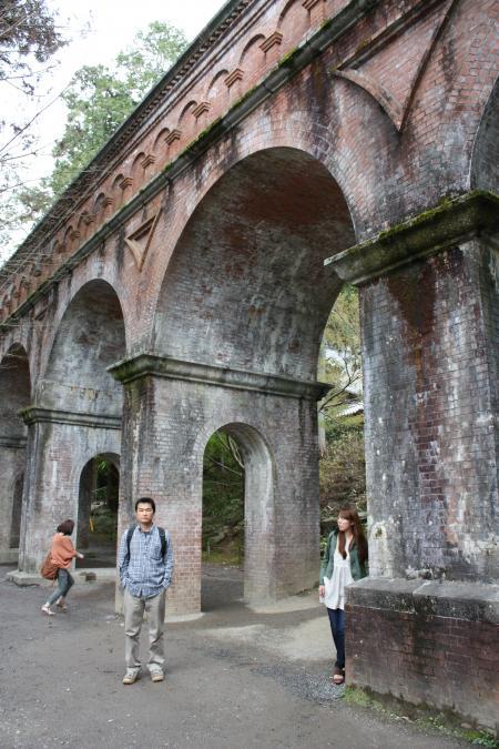 カウチサーフィン(私)、南禅寺の水道橋