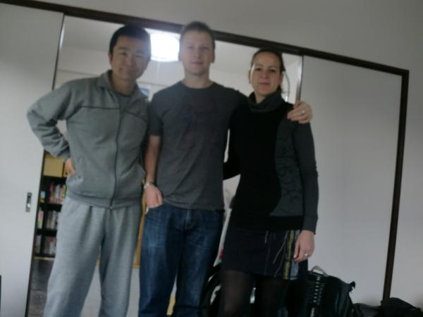 カウチサーフィン(イギリス・ニュージーランド)、ソフィーとサイモン