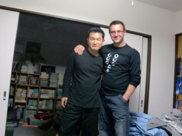 カウチサーフィン(イギリス)、私とポール。