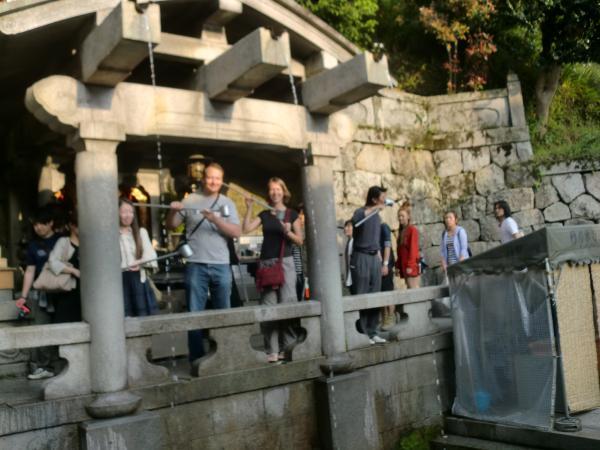 カウチサーフィン(ハンガリー、アティラとエスツァー)、音羽の滝