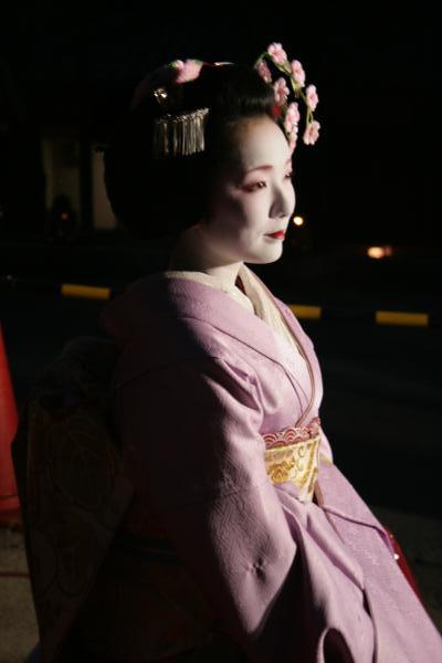 東山花灯路2012・舞妓