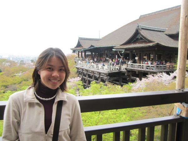 カウチサーフィン(清水寺とメイサン。)