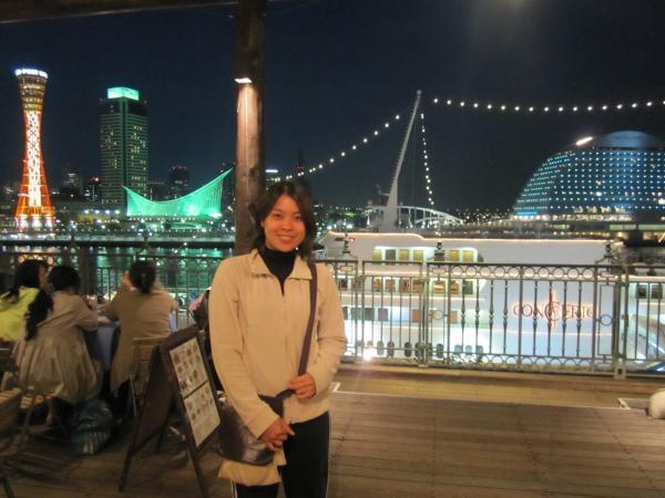 CouchSurfing(神戸の夜景とメイサン。)