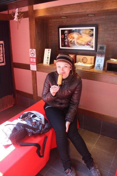 CouchSurfing(マリ、ウクライナ。錦市場にて。)