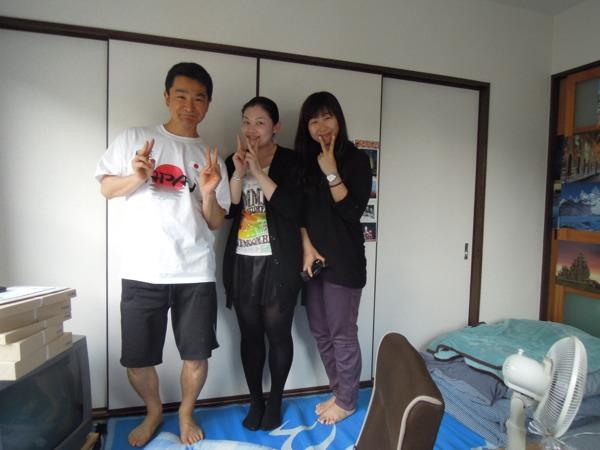 CouchSurfing:シャンシャンとヨーヨー(中国)。