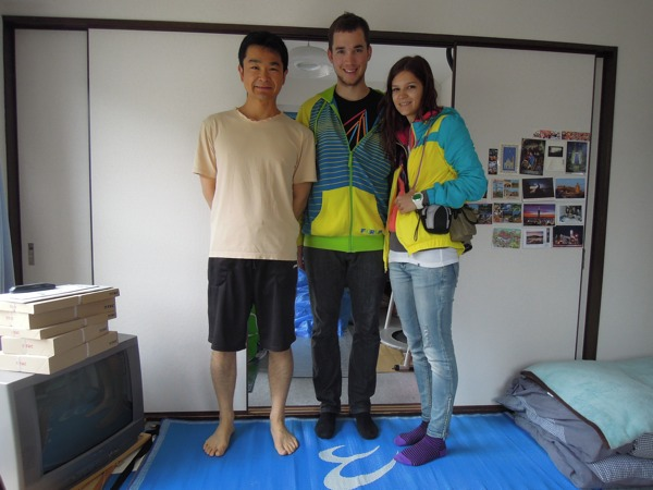 CouchSurfing(カウチサーフィン):レンカとヴィクター(スロヴァキア)