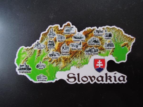 スロヴァキアからのおみやげ。マグネット。