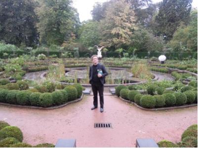 カウチサーフィン(ピーター、ブリュッセル・ベルギー)、彼の家の近くの公園にて。