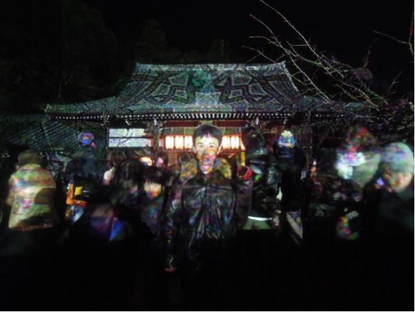 法輪寺のライトアップ・その3