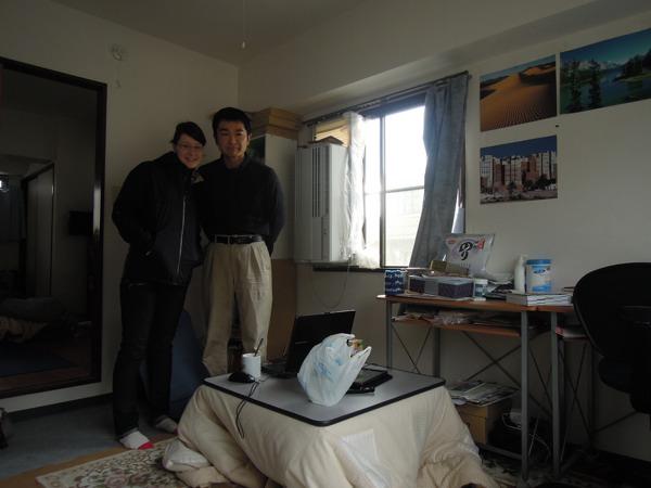 CouchSurfing(カウチサーフィン):アンと私。私の部屋にて。
