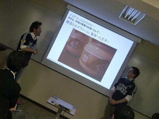 村尾隆介+高橋康徳 セミナー前のツーショット3