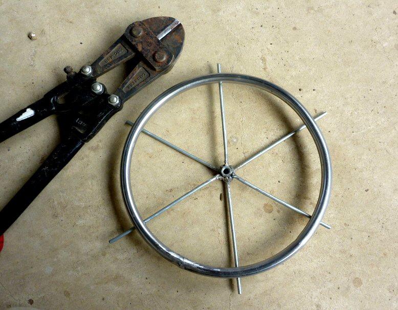 一輪車車輪