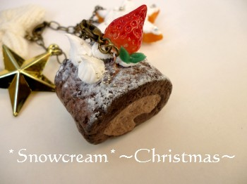 Christmas・ロールケーキ2