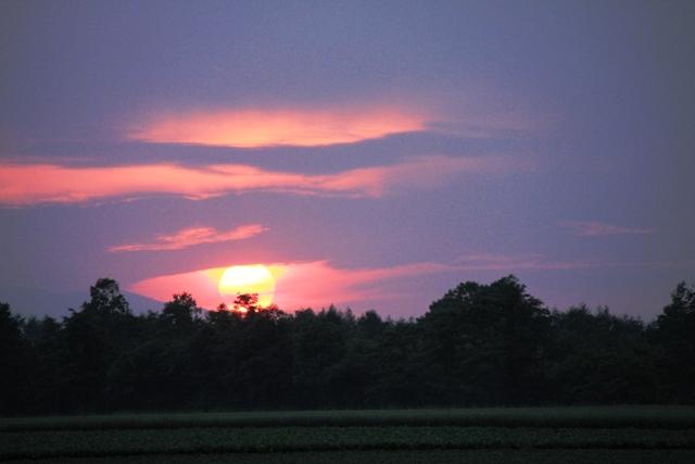 0668分の太陽が見えた