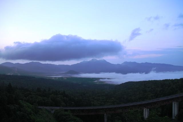 007三国峠から見た雲海