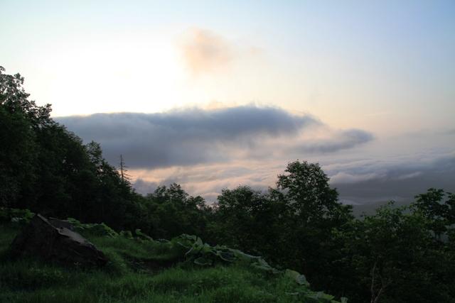 015銀先代から見た雲海