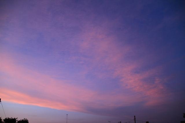 0082F北の方向の空