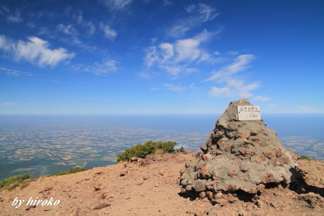 075斜里岳頂上