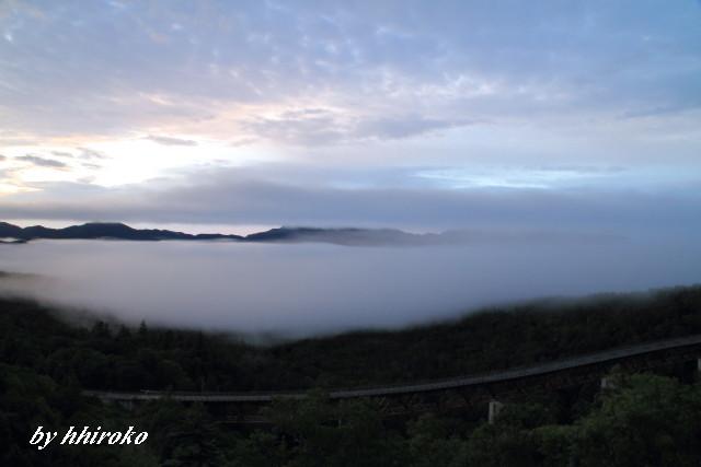 014l国道273号線松見橋と雲海
