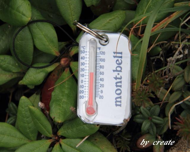 292白雲岳の気温
