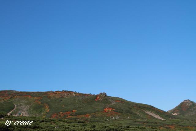 053赤岳の紅葉