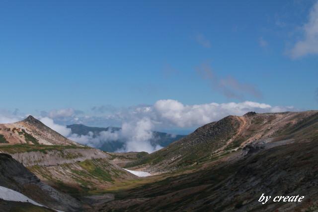 143赤岳と烏帽子岳