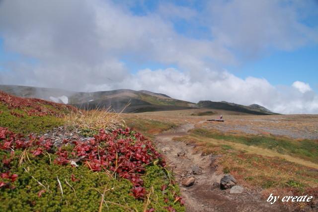 153北海岳を望む