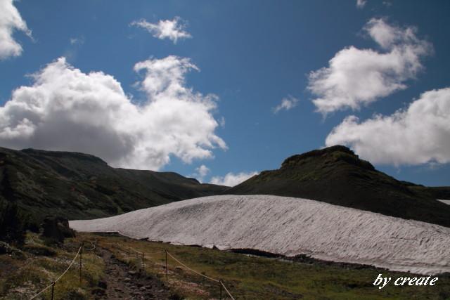 319北海沢の万年雪