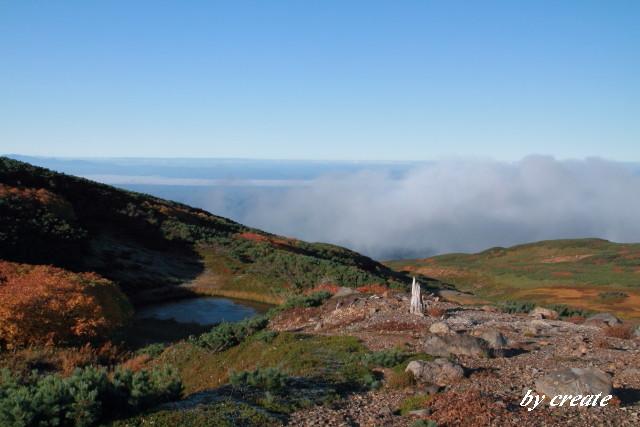 041登山道周辺の紅葉