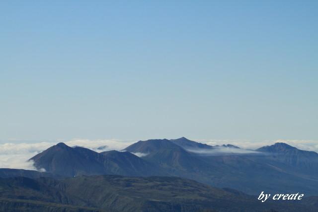 003トムラウシ山や十勝岳連邦