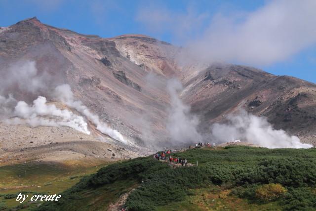 312噴気活動と地獄谷