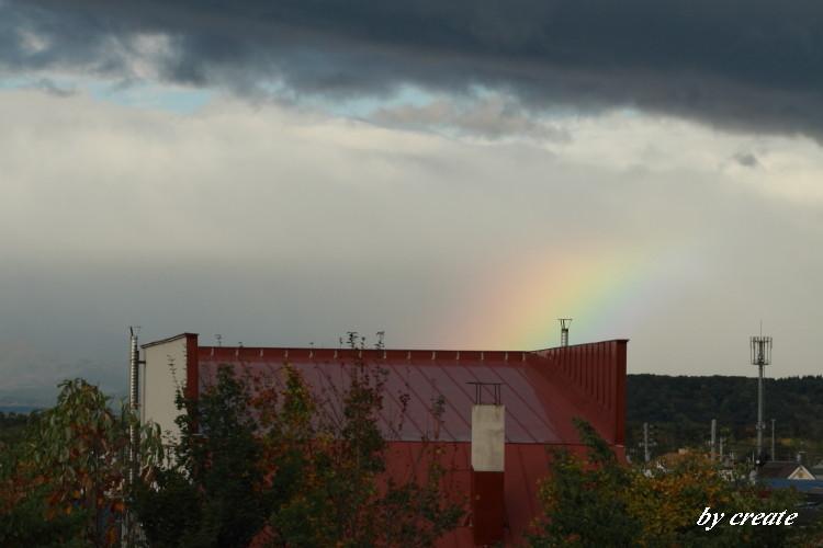 0172Fから見えた虹