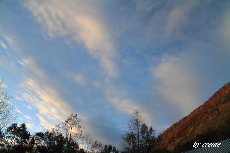 147雲のながれもきれいでした