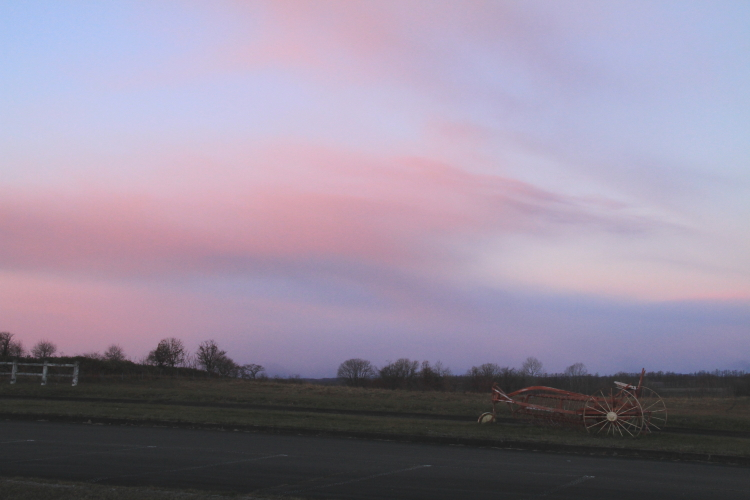 DPP 016 ピンクに染まる西の空0001