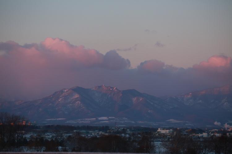 DPP 078 ピンクに染まる山並み0001