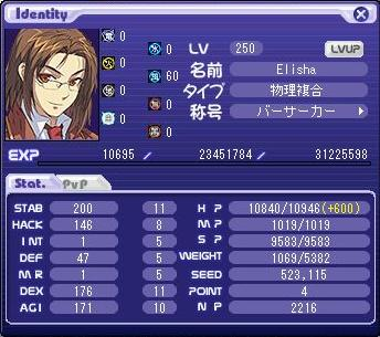 マキシさんLv250