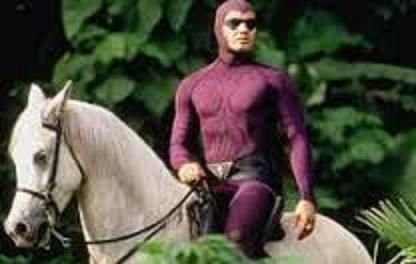 紫ヒーロー